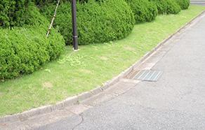 舗装工事(歩道舗装・駐車場)